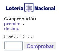 comprobacion loteria navidad 2006: